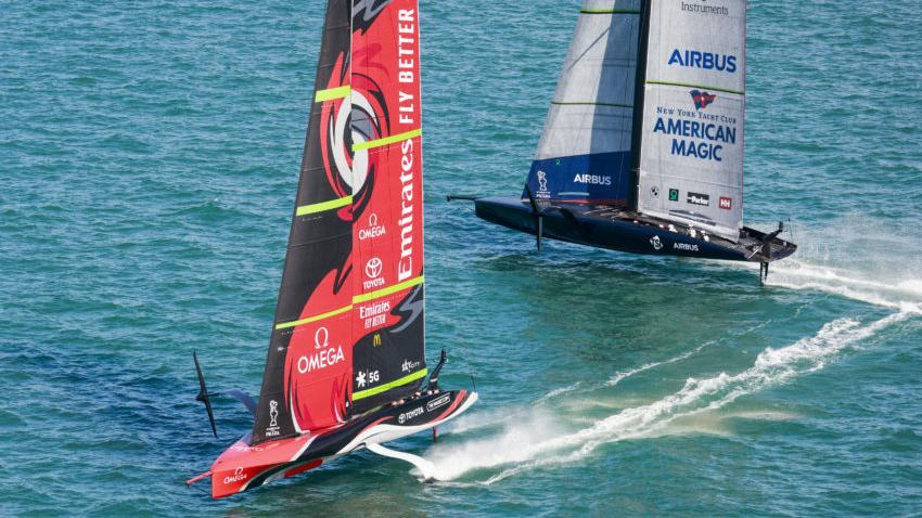 America's Cup, Cork is the first venue hosted by the Irish