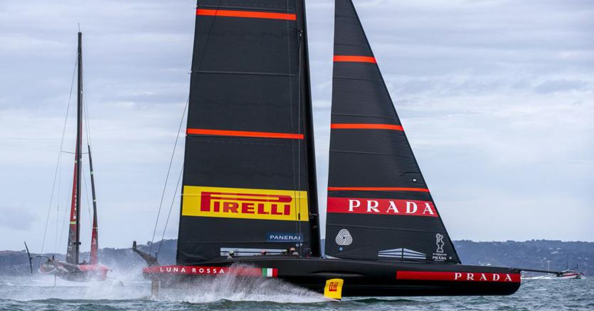 America's Cup, Luna Rossa wins the second race and draws 1-1 with New Zealand
