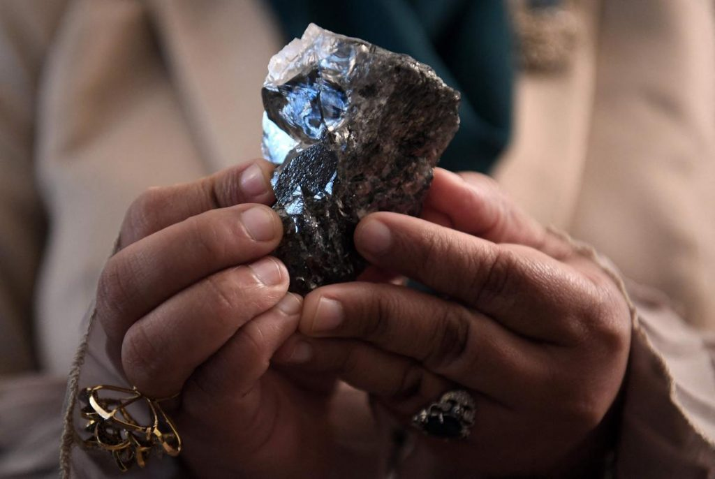 An unusual diamond was found in Botswana, and it is the third largest in the world