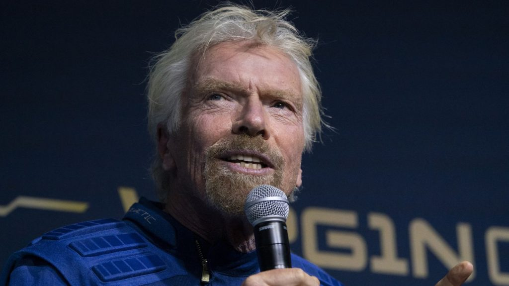 Billionaire's ship will 'jump over the atmosphere'