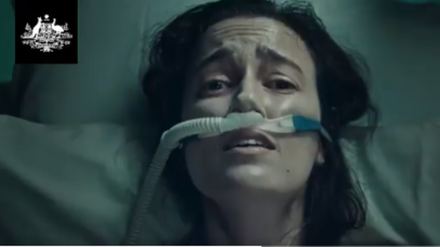 Controversial vaccination ad in Australia: 'Wrong in every respect, totally inappropriate' - Politics