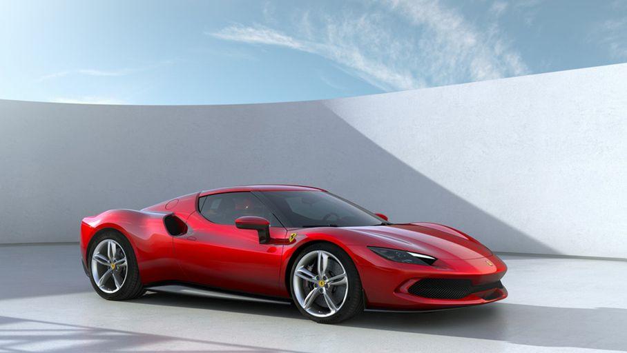 Ferrari introduces a new hybrid supercar, the 296 GTB with a V6 engine
