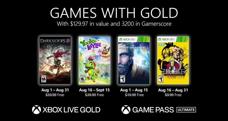 Free Games for Xbox Series X |  S and One of the month - Nerd4.life