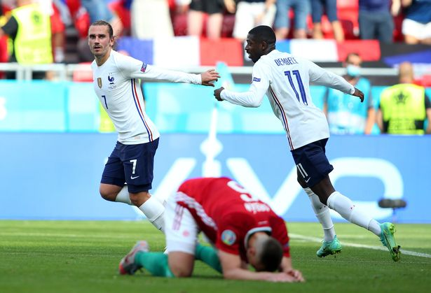 France superstars Antoine Griezmann and Ousmane Dembele are good friends in Barcelona and the national team.