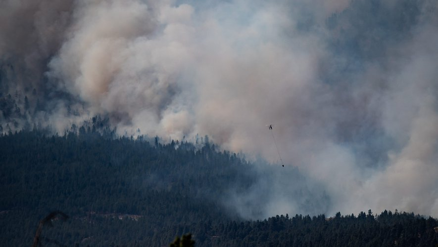Heatwave in Canada - Lytton, the village with all the records, has been wiped off the map by fire