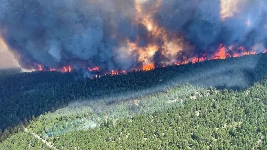 How the fire engulfed the village of Lytton, which was living in the midst of temperatures up to 50 degrees Celsius.