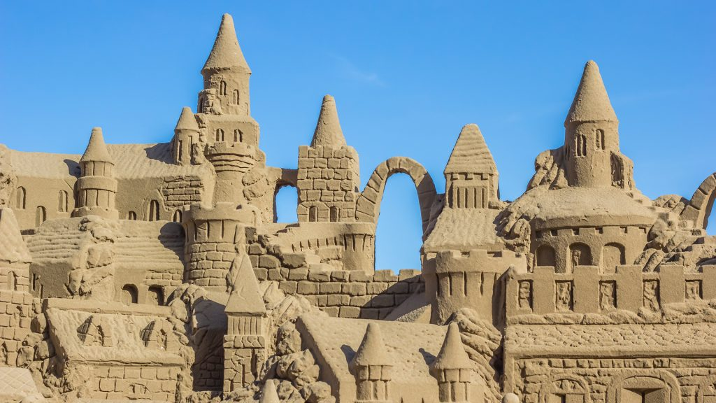 How to build the perfect sand castle according to science