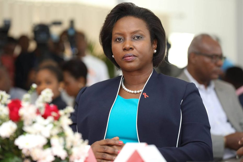 """""""I am alive"""", the first words of the first lady of Haiti to the population"""