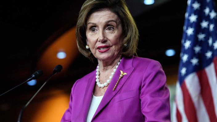 Nancy Pelosi lors d