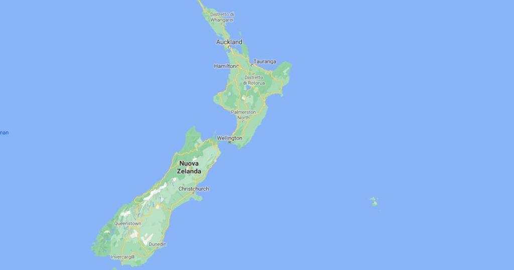 New Zealand, a magnitude 8.1 earthquake.  Tsunami warning across the Pacific