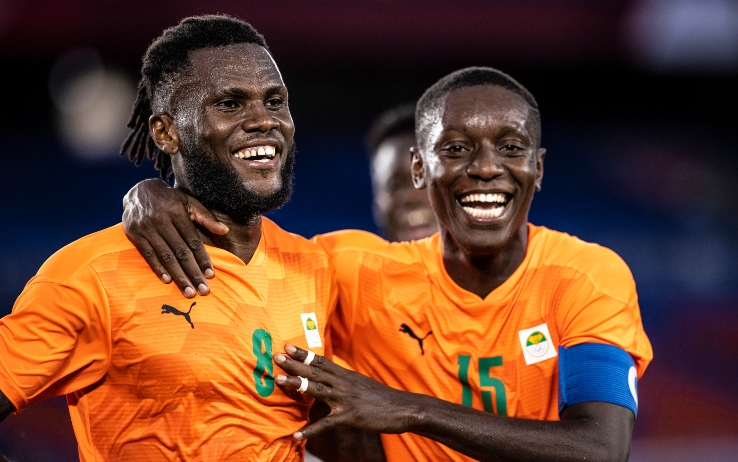 Kessié gol con la Costa d'Avorio, show del Brasile
