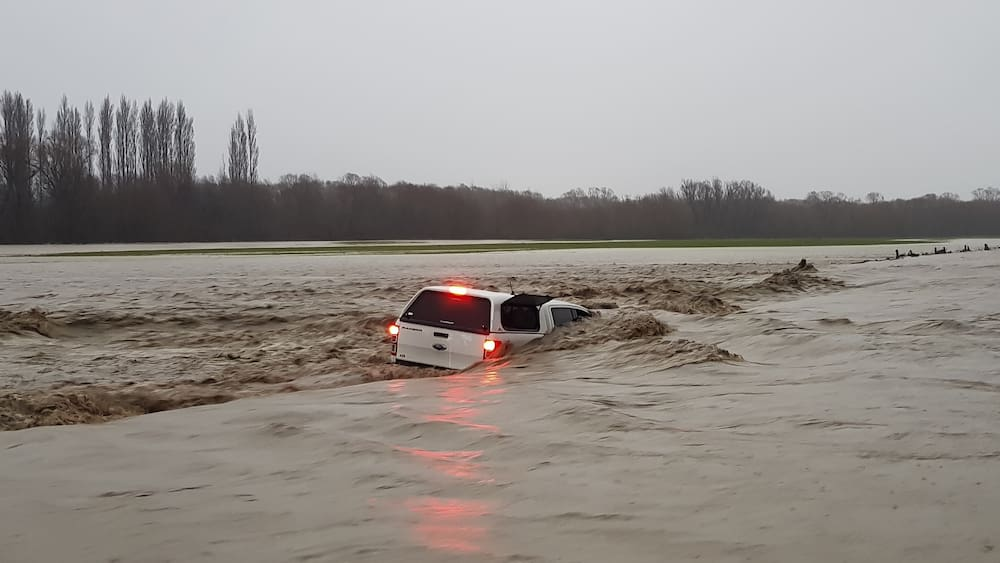 Severe flooding in New Zealand's South Island