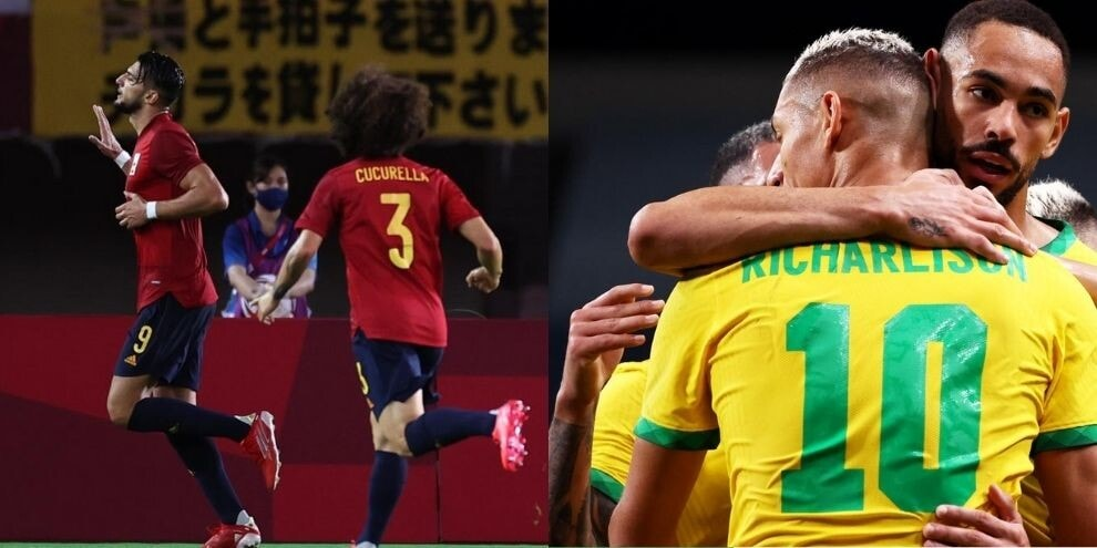 Spain and Brazil in the semi-finals, outside Ivory Coast in Kiss