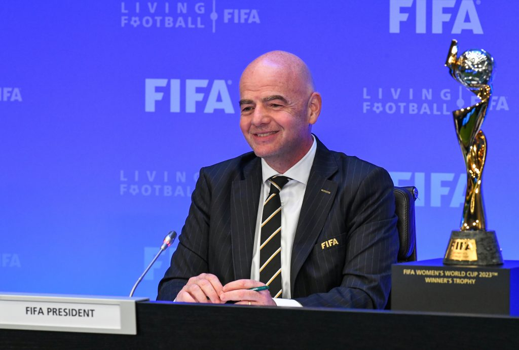 The FIFA President was impressed by the OFC development rules