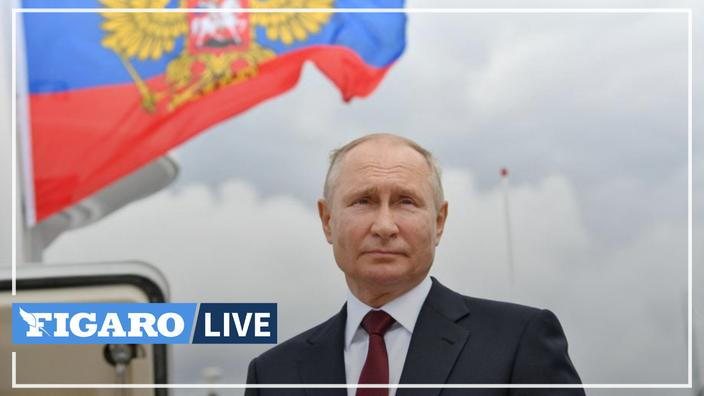 "Vladimir Putin praises the Russian fleet capable of destroying ""any target"""