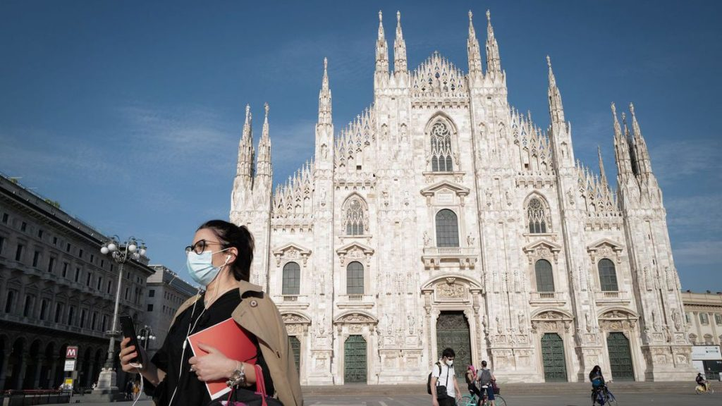 directly.  Covid-19: Like France, Italy circulates the health card