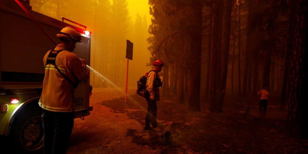 Five people are still missing in California after the Dixie fire