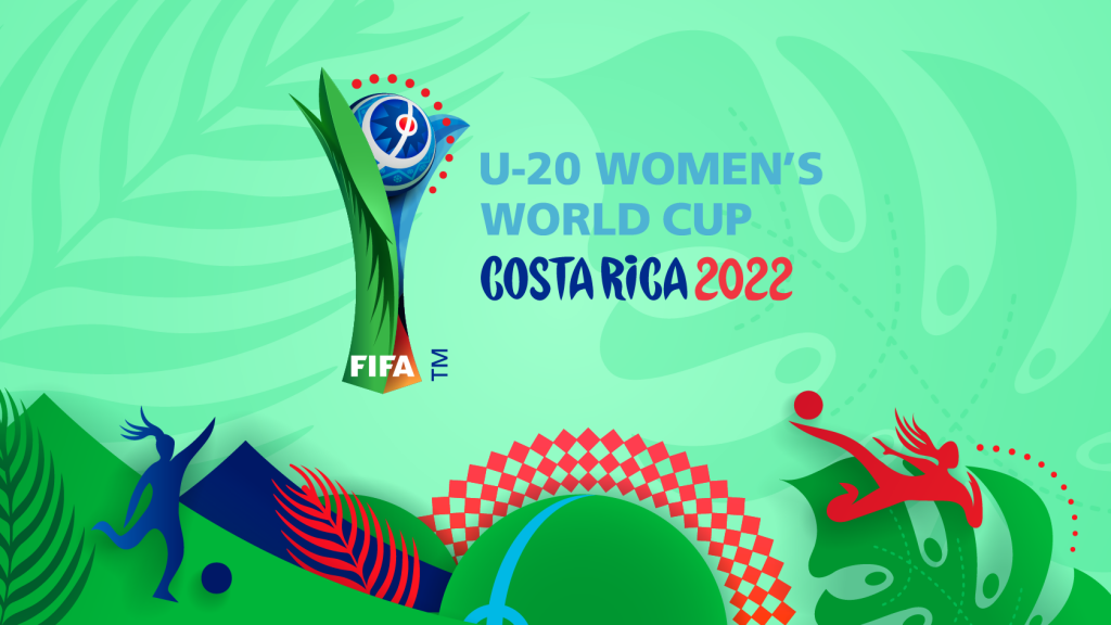 Announcing the FIFA U-20 Women's World Cup 2022, a lively logo