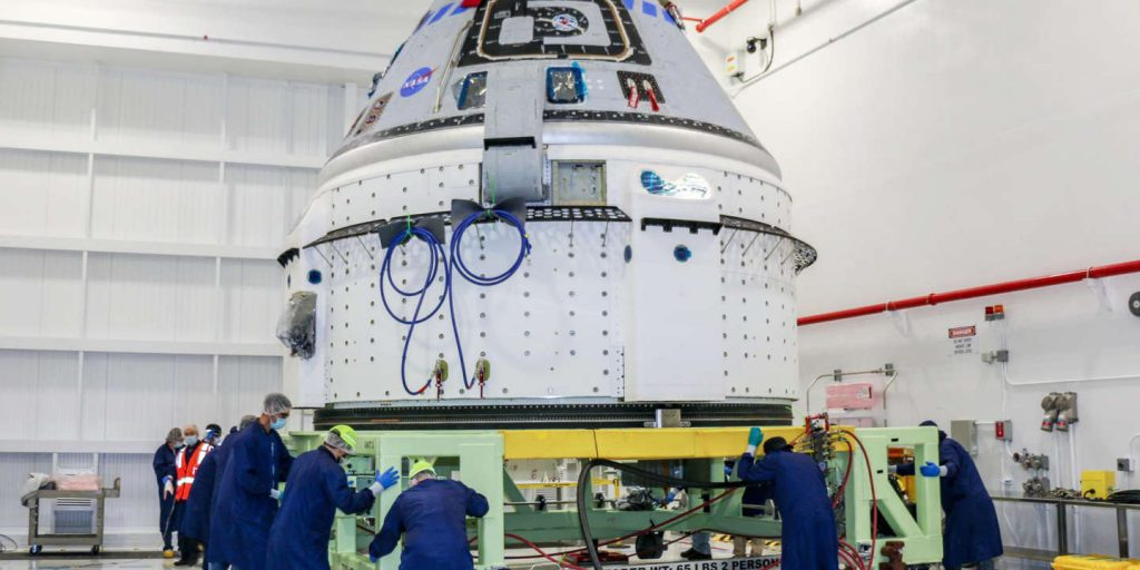 Boeing returns Starliner, its space capsule, to factory, expects months delay for its flight