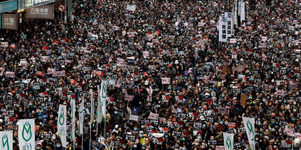 A major pro-democracy movement announces its dissolution