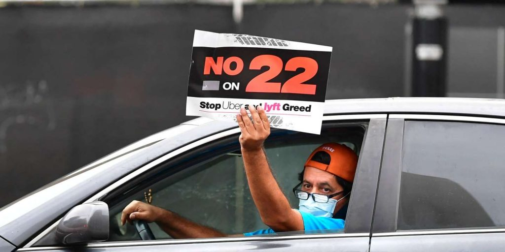 Uber Drivers Status: California Referendum Unconstitutional