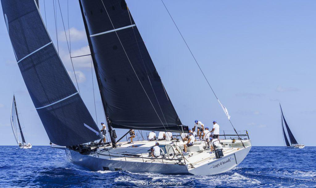The Palermo-Monte Carlo Regatta restarted: 54 boats started