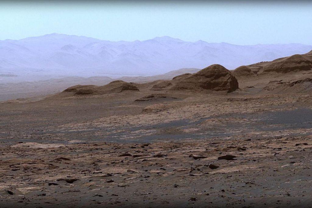 Curiosity: NASA reveals a wonderful panorama of Mars