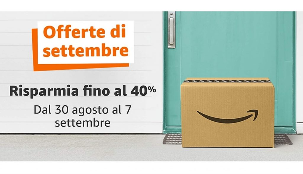 September Deals on Amazon!  Discounts up to 40% from August 30th until September 7th