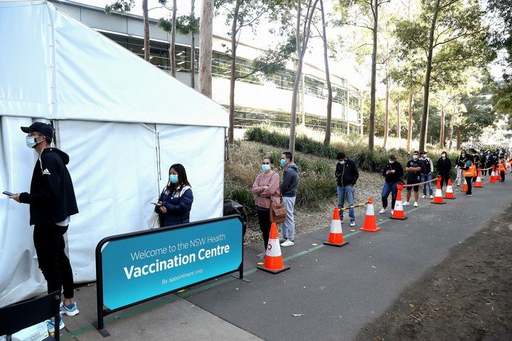 Vaccination is now the primary goal of the Australian government in tackling the delta variant of the coronavirus.  Photo: Bloomberg