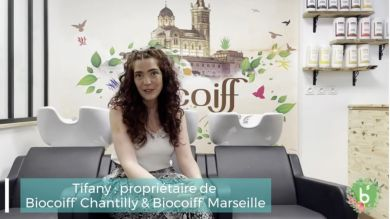At 25, she opened my Biocoiff salon within a year, discover her testimony