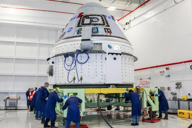Boeing Starliner capsule, June 2.