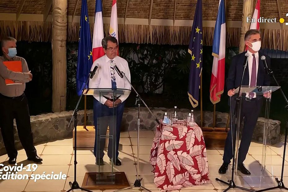 COVID-19 Point - Sunday Containment in Tahiti and Moorea and Curfew