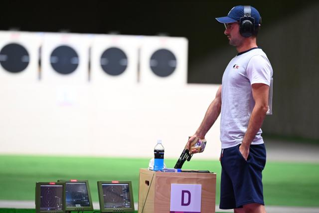 """Clement Passager """"disgusted"""" by his disqualification for the speed pistol at the Tokyo Olympics"""