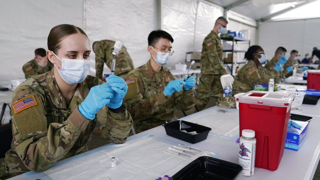 Compulsory vaccination against Covid-19 for the army by mid-September