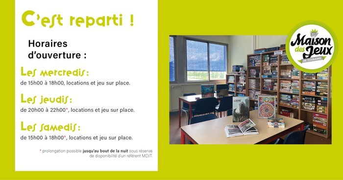Game night at Espace Toulouse Lautrec