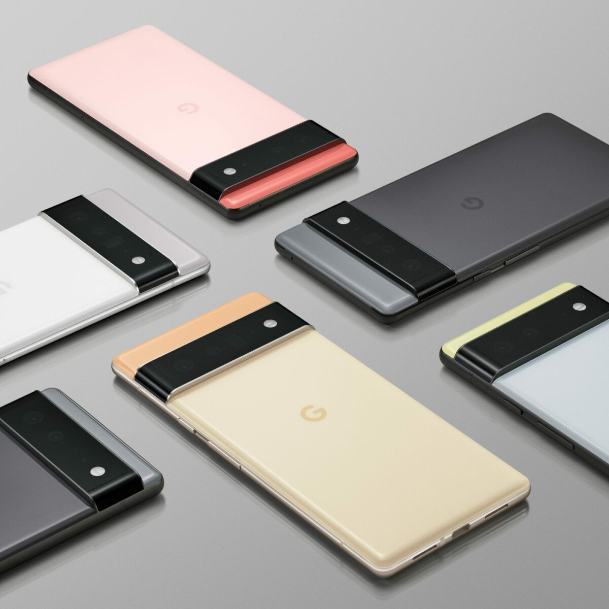 Google Pixel 6 and 6 Pro colors