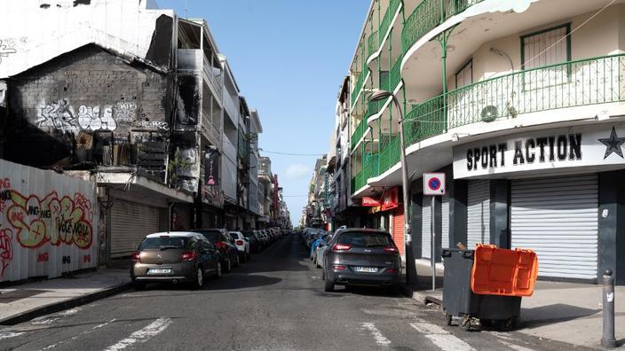 Dans les rues de Pointe-à-Pitre.