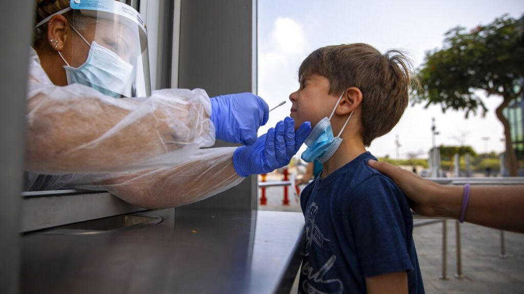 Israel requires health permits for children from the age of three