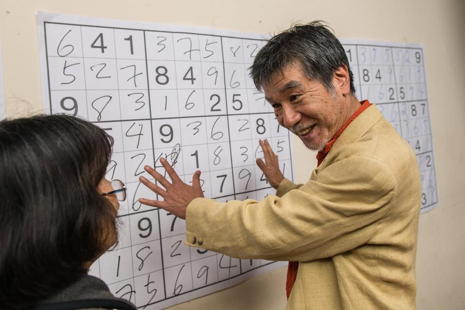 "Japanese Sudoku loses Maki Kaji ""godfather"""