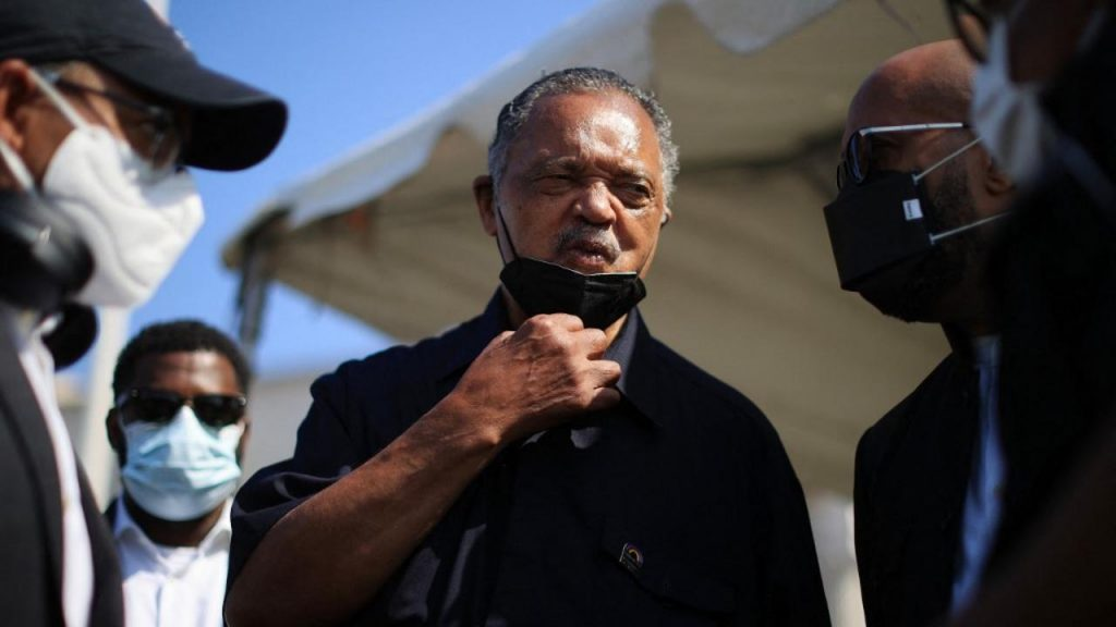 LIVE - Covid-19: Pastor Jesse Jackson has been hospitalized after testing positive for the virus