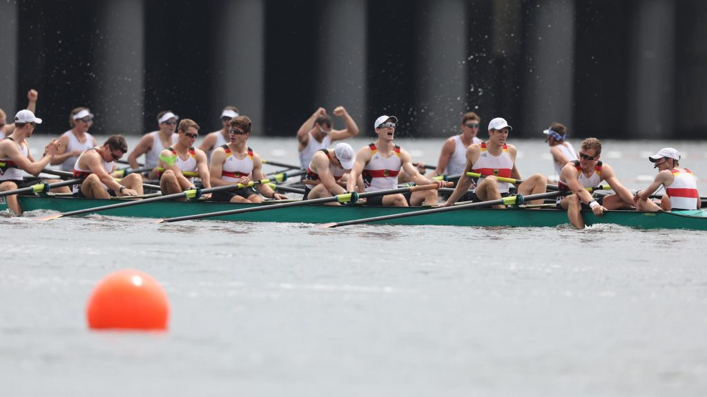 Olympia 2021 |  Rowing finals: Germany eight lose to New Zealand