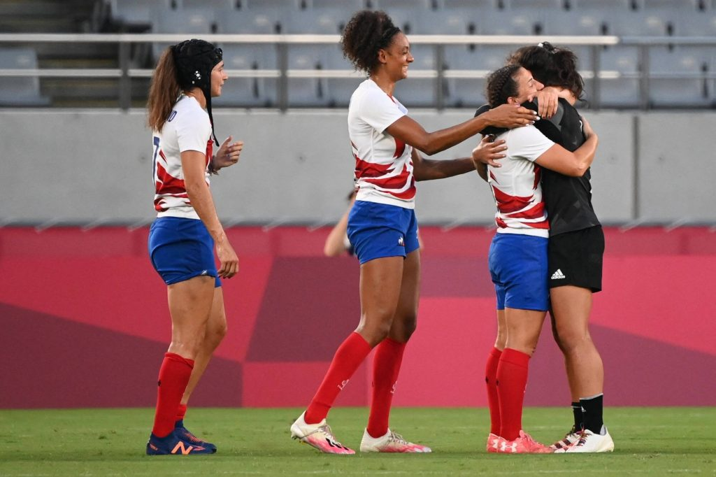 Olympics: New Zealand dominate in the final with the Blues' silver medals in rugby