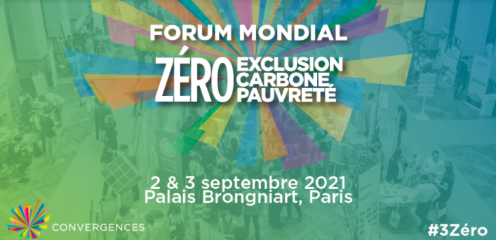 Participate in the Convergences 2021 Forum for a World Zero Carbon, Poverty, and Exclusion