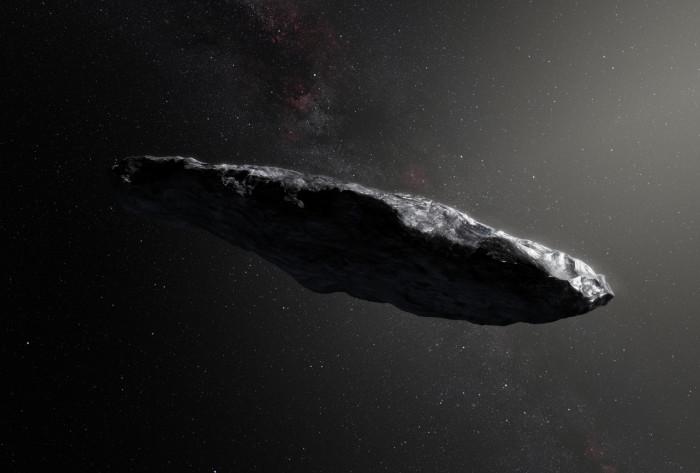 Strange ship seen in space?