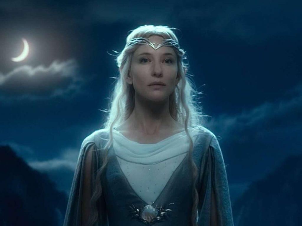 Galadriel (Cate Blanchett) soll in der neuen Der Herr der Ringe-Serie auftauchen. Foto: imago/Cinema Publishers Collection