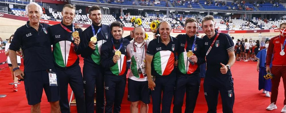 Tokyo 2020, the Quartet's masterpiece: gold and Italy's record in pursuit