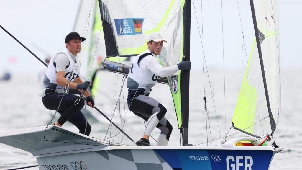 Tokyo 2021: German sailors win bronze after silver