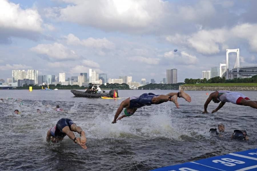 Triathlon, brilliant third place for Italy in the mixed relay of the Montreal stage of the World Series - OA Sport