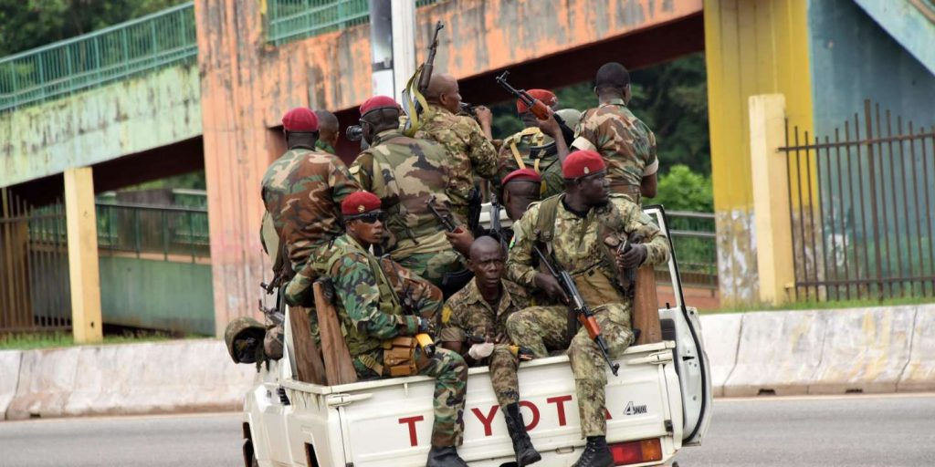 Uncertainty reigned in Guinea after the overthrow of President Alpha Condé