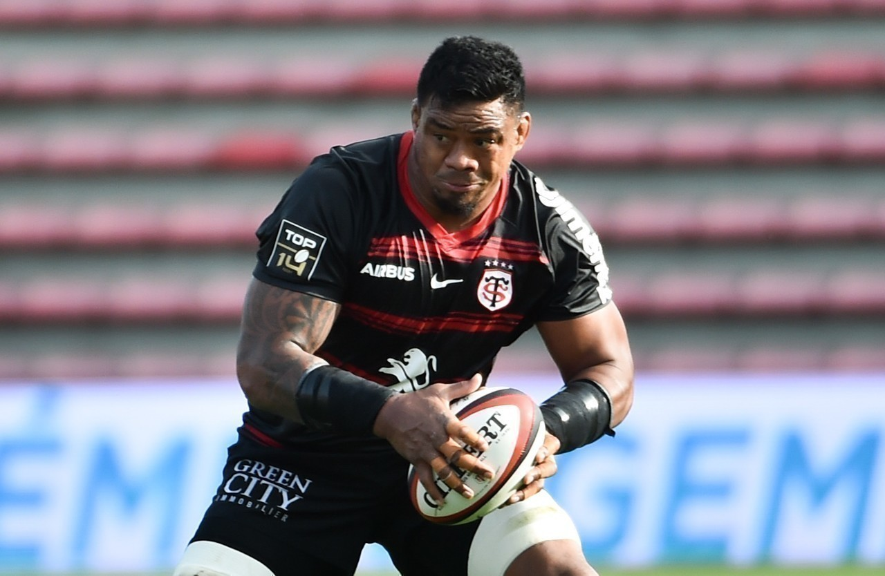 Stade Toulousain's second grader, Joe Tekori, is still showing a very good level at the top of the 37.